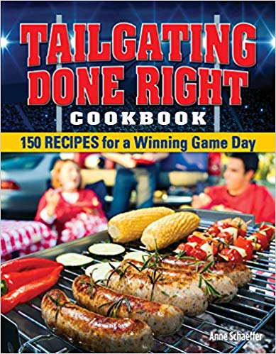 Book Review * Tailgating Done Right CookBook