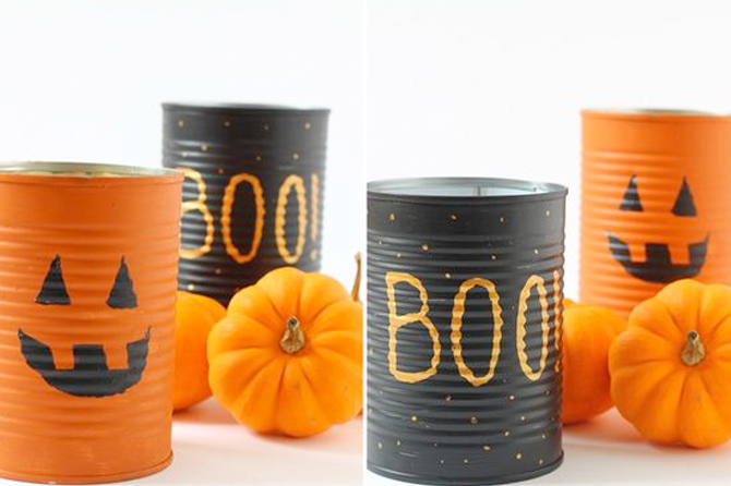 DIY Friday * Receyled Cans