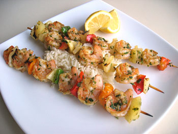 Cajun Spice Rub ShrimpSkewers