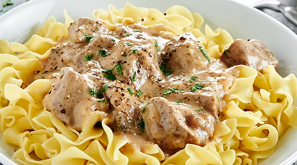 Today's Recipe * Beef Stroganoff