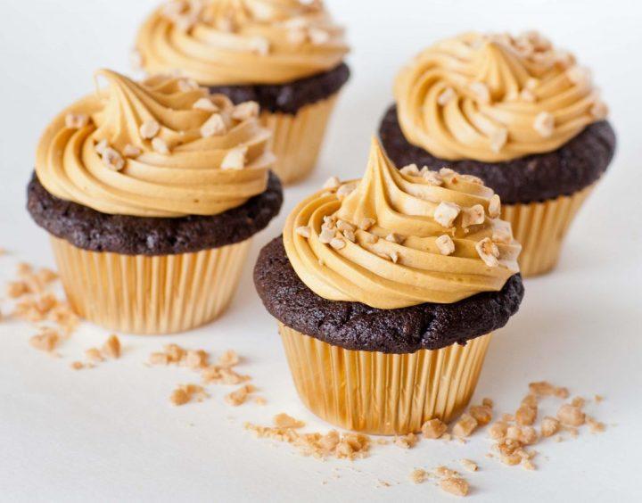Caramel Chocolate Cupcakes