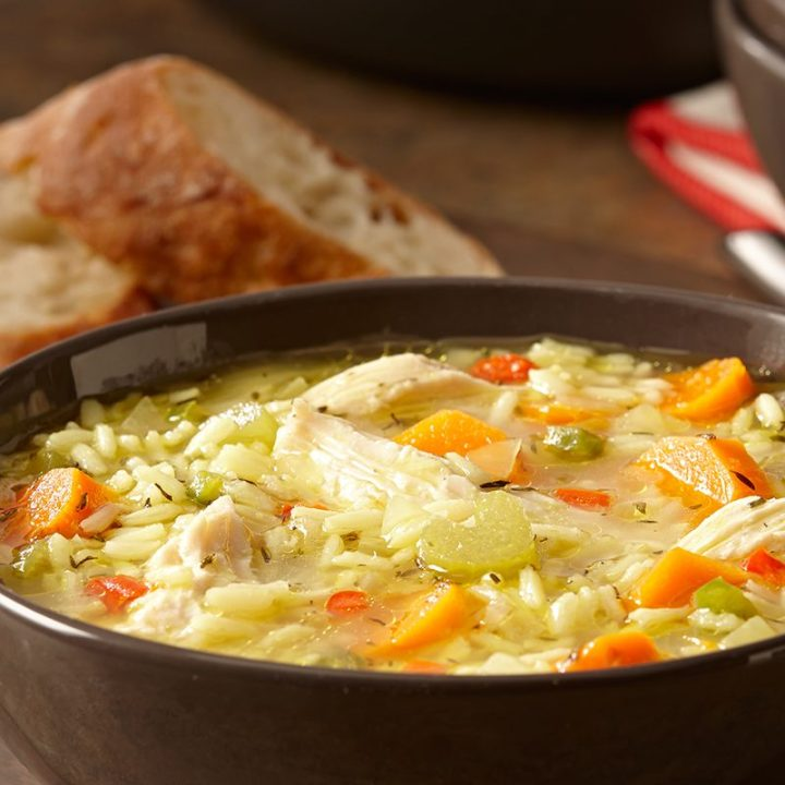 Chicken and RiceSoup