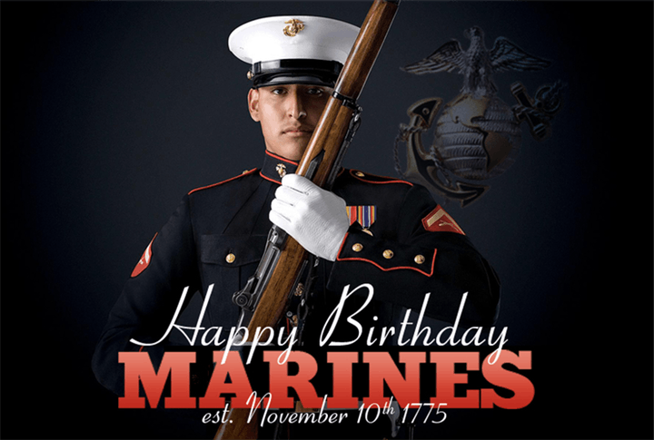 Happy Birthday ! Marine Corp