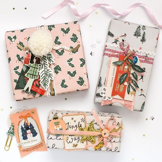 Gift Wrapping Ideas from The Little Treasures