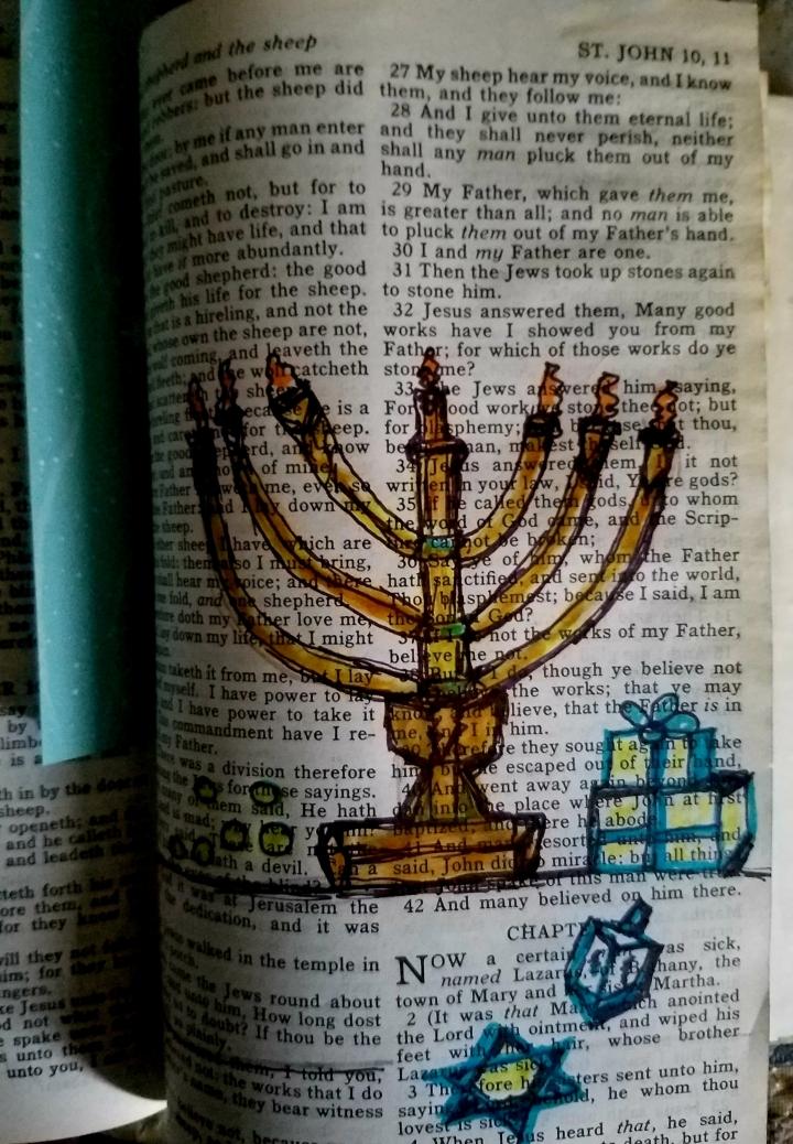 Hanukkah  Bible verses: