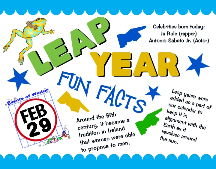 Feb 29th Leap Year