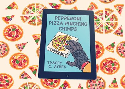 Pepperoni Pizza Pinching Chimps
