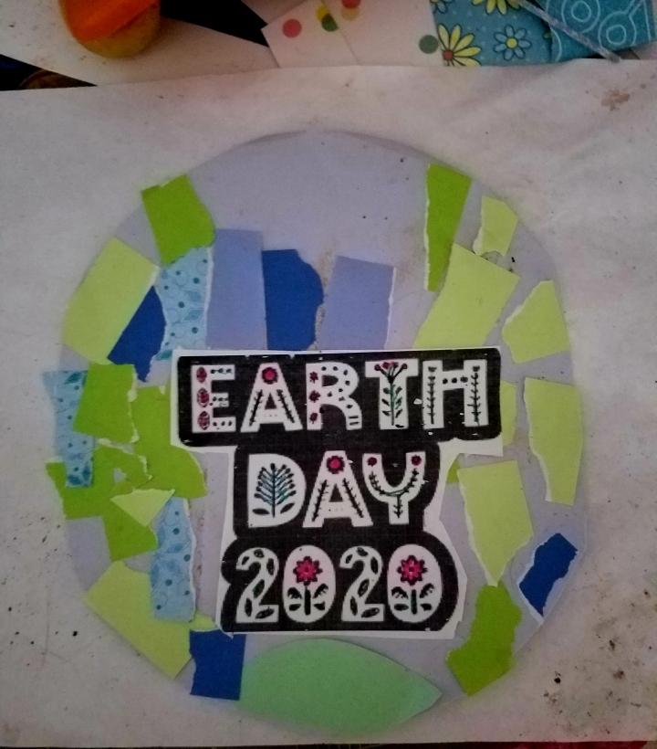 Kids Crafts * EarthWeek