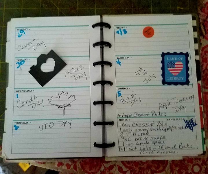 July planner