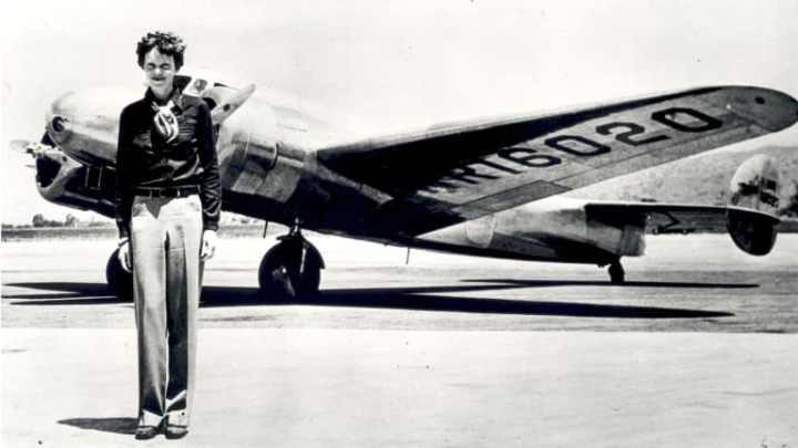 At the Library  * AmeliaEarhart