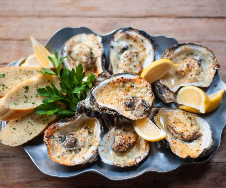 Grilled  Louisiana Oyster's