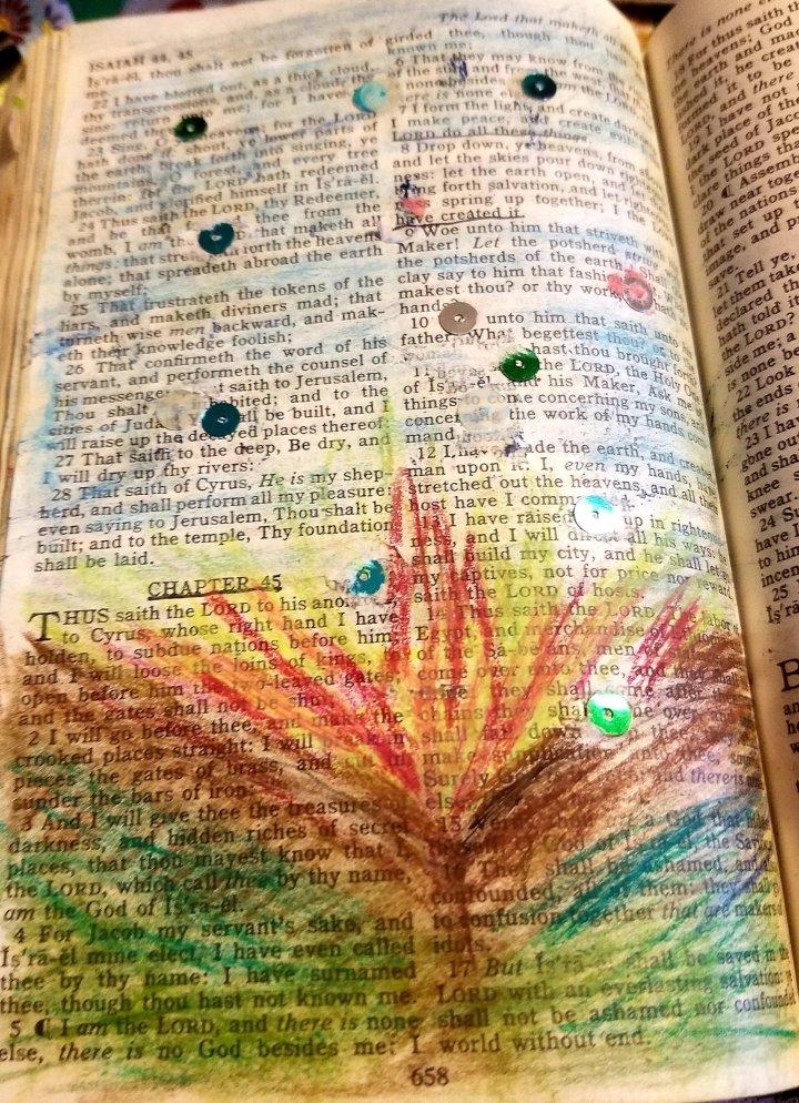 Bible class : Isaiah45:8
