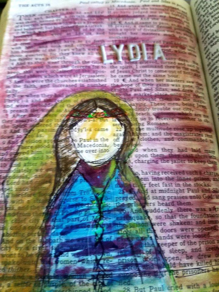 Lydia :  Worshipper ofGod