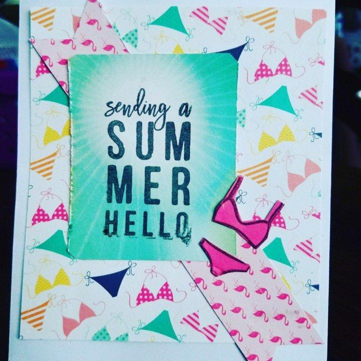 Saturday crafts: Summercards
