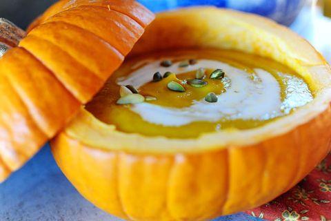Mid Autumn  Festival : PumpkinSoup