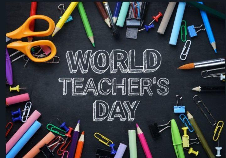 October : World teacherDay